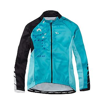 Madison Blue Curaco-Black 2016 Sportive Womens Long Sleeved Cycling Jersey
