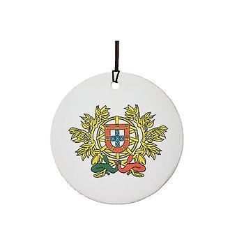 Portugal Coat Of Arms Car Air Freshener