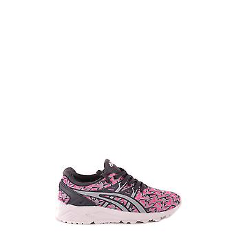 Asics Pink Fabric Sneakers