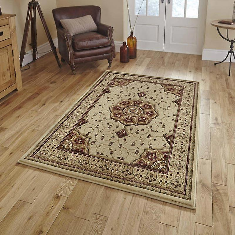 Rugs - Heritage - Cream Red 4400