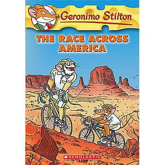 The Race Across America by Geronimo Stilton - 9780606002288 Book