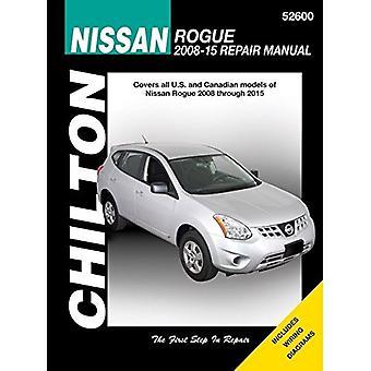Nissan Rogue Automotive Repair Manual - 9781620922040 Book