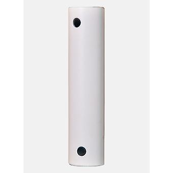 Fanimation outdoor ceiling fan extension drop rod White