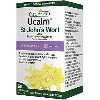 Natures Aid Ucalm 300mg , 60 Tabs
