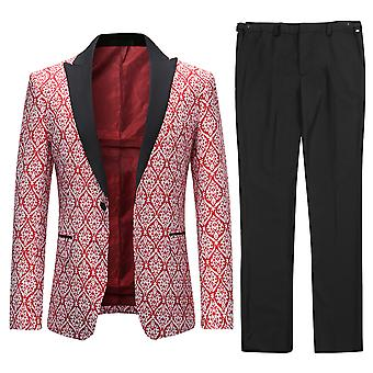 Allthemen Hommes Tuxedos Mariage 2-Pièces Banquet Costume Robe Blazer-Pantalon