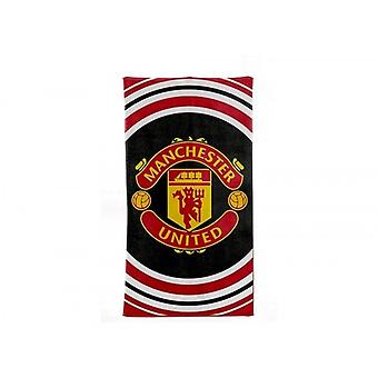 Manchester United FC Official Pulse Design Towel
