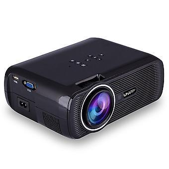 Hd-Projektor 1080p geführt Mini-Projektor 3000 Lumen tragbare Heimkino-Videoprojektor (australische Vorschriften)