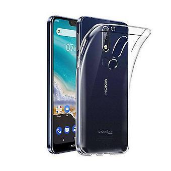Case CoolSkin3T für Nokia 7.1 transparent Weiß