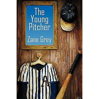 El joven lanzador por gris y Zane
