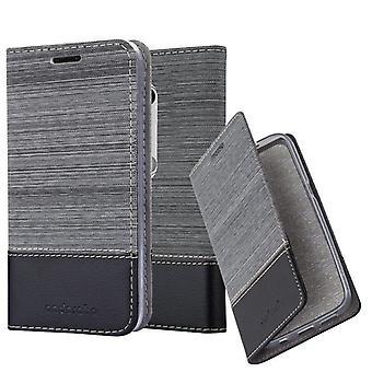 Cadorabo Hülle für Motorola MOTO G3 Case Cover - Handyhülle mit Magnetverschluss, Standfunktion und Kartenfach – Case Cover Schutzhülle Etui Tasche Book Klapp Style