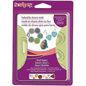 Sculpey Silicone Bakeable Mold Bezel Apm8 80