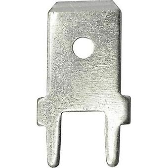 Blade connector Connector width: 6.3 mm Connector thickness: 0.8 mm 180 ° Not insulated Metal Vogt Verbindungstechnik 3