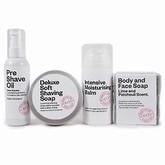 Deluxe Soft Shaving Soap & Essentials Offer