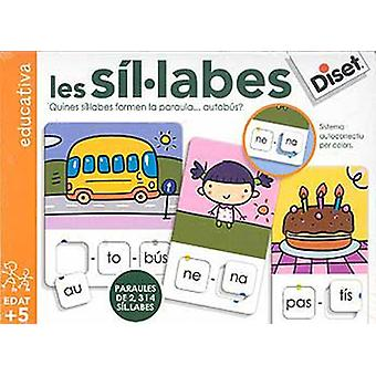 Diset Les Sil.Labes (Toys , Educative And Creative , Vocabulary)