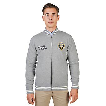 Oxford University Sweater men Grey