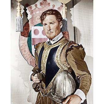 The Private Lives Of Elizabeth e Essex Errol Flynn como o Conde de Essex 1939 Photo Print