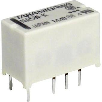 Takamisawa NA12WK12V PCB Mount Relay, Subminiature 12V 2 CO, DPDT