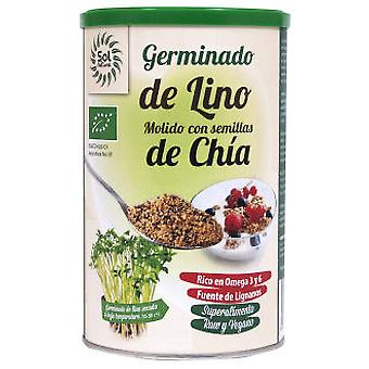 Sol Natural Milled Flax sprouts with Bio Chia 500 gr