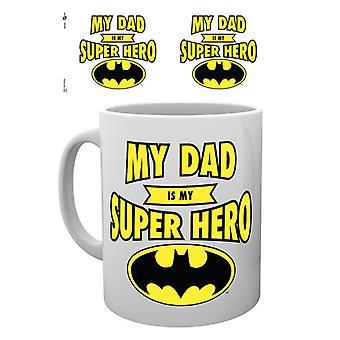 DC Comics Väter Tag Becher Batman Papa Superhelden Mug