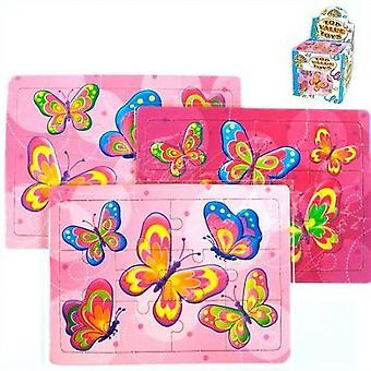Jigsaw - Butterfly design card Jigsaw