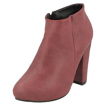 Ladies Anne Michelle Heeled Ankle Boots F50006