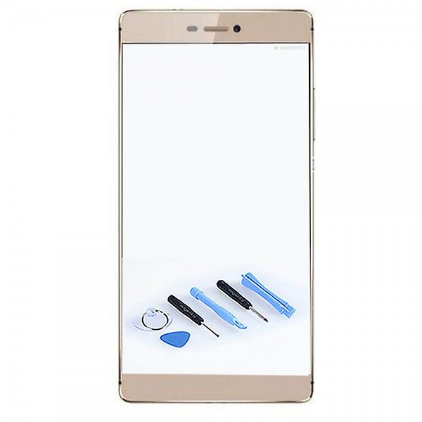 Display glass gold for Huawei Ascend P8