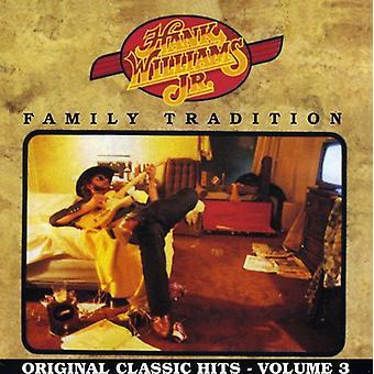 Hank Williams Jr. - Hank Williams Jr.: Importación de los E.e.u.u. tradición [CD] Vol. 3-familia