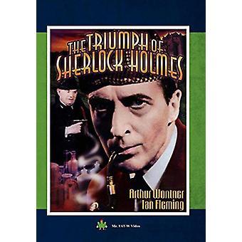 Sherlock Holmes: Triumf af Sherlock Holmes [DVD] USA importerer