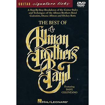 Allman Brothers Band - bästa av Allman Brothers Band [DVD] USA import