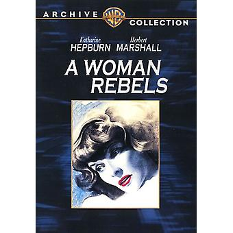 Woman Rebels [DVD] USA import