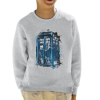 Doctor Who Time And Space Kid's Sweatshirt