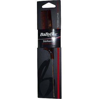 Babyliss Pin Tail Comb Brown