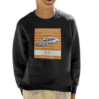 Haynes Workshop manuelle 0765 Saab 900 Turbo Streifen Kinder Sweatshirt