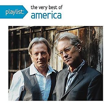 Amerika - Playlist: Sehr Best of America [CD] USA import