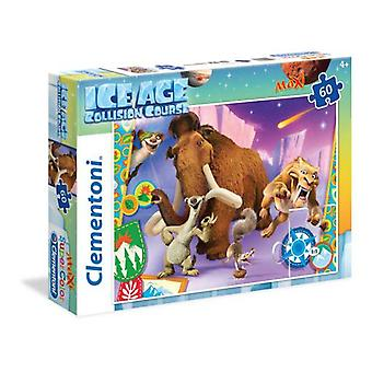 Clementoni Puzzle 60 pieces Maxi Ice Age 5 (Toys , Boardgames , Puzzles)