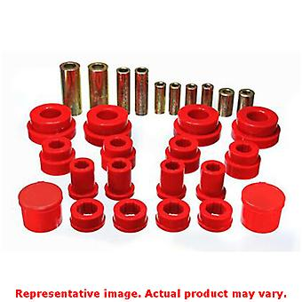 Energy Suspension Control Arm Bushing Set 7.3121R Red Front Fits:INFINITI 2003