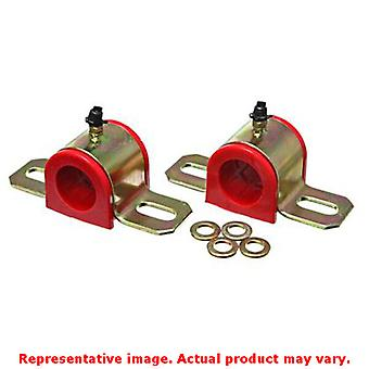 Energy Suspension Sway Bar Bushing Set 9.5160R Red Front/Rear Fits:PONTIAC 2006