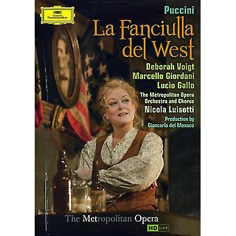 G. Puccini - La Fanciulla Del West [DVD] USA import