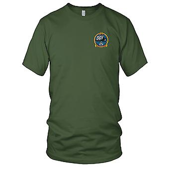 US Navy LST-901 USS Litchfield County Embroidered Patch - Mens T Shirt