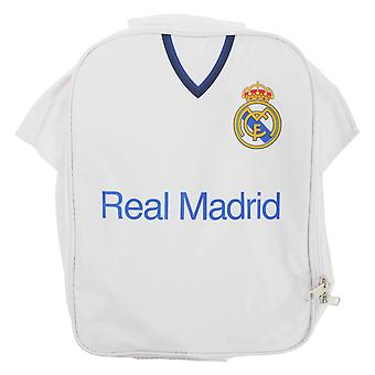 Real Madrid FC Childrens Boys Official Insulated Football Shirt Lunch Bag/Cooler