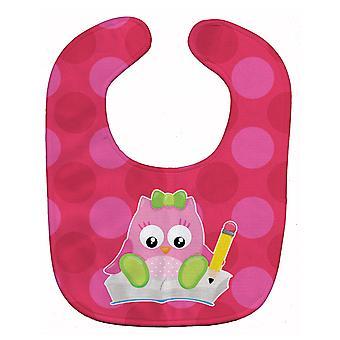 Carolines Treasures  BB9029BIB Back to School Girl Bird Baby Bib