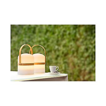 Lucide JOE Rounded LED Table Lamp Lantern With Handle