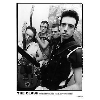 Clash Mogador Paris1981 Poster Poster Print