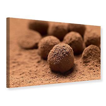 Leinwand drucken Schokoladentrüffel