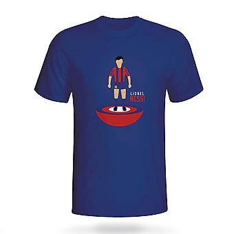 Lionel Messi Barcelona Subbuteo Tee (Marine) - Kids
