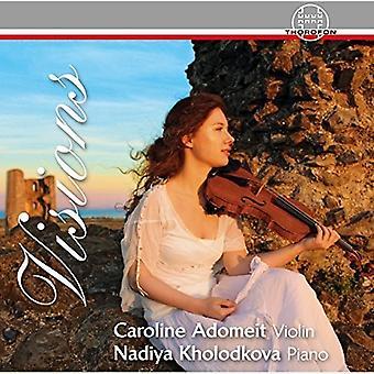 Chopin / Adomeit / Kholodkova - visioner [CD] USA import