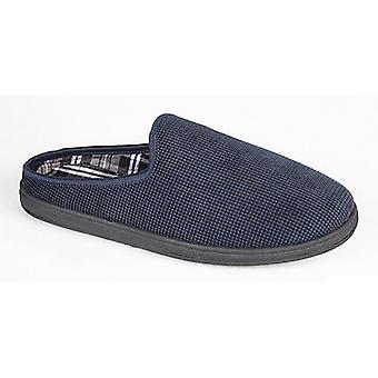 Sleepers Mens Noah Memory Foam Mule Slippers
