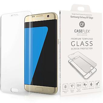 Caseflex Samsung Galaxy S7 kant glas skærm protektor - Twin Pack