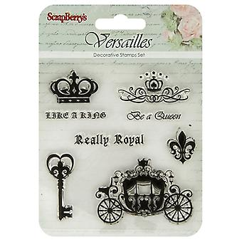 ScrapBerry's Versailles Clear Stamps 4