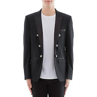 Balmain men's S8H7746T281176 Black wool Blazer